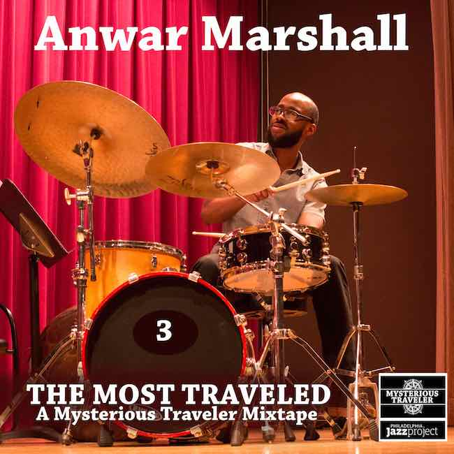 Anwar Marshall Mixtape 3 Cover