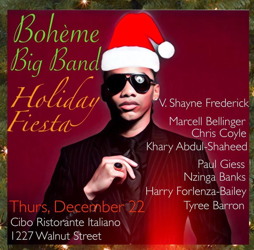 Boheme Big Band Holiday Festival