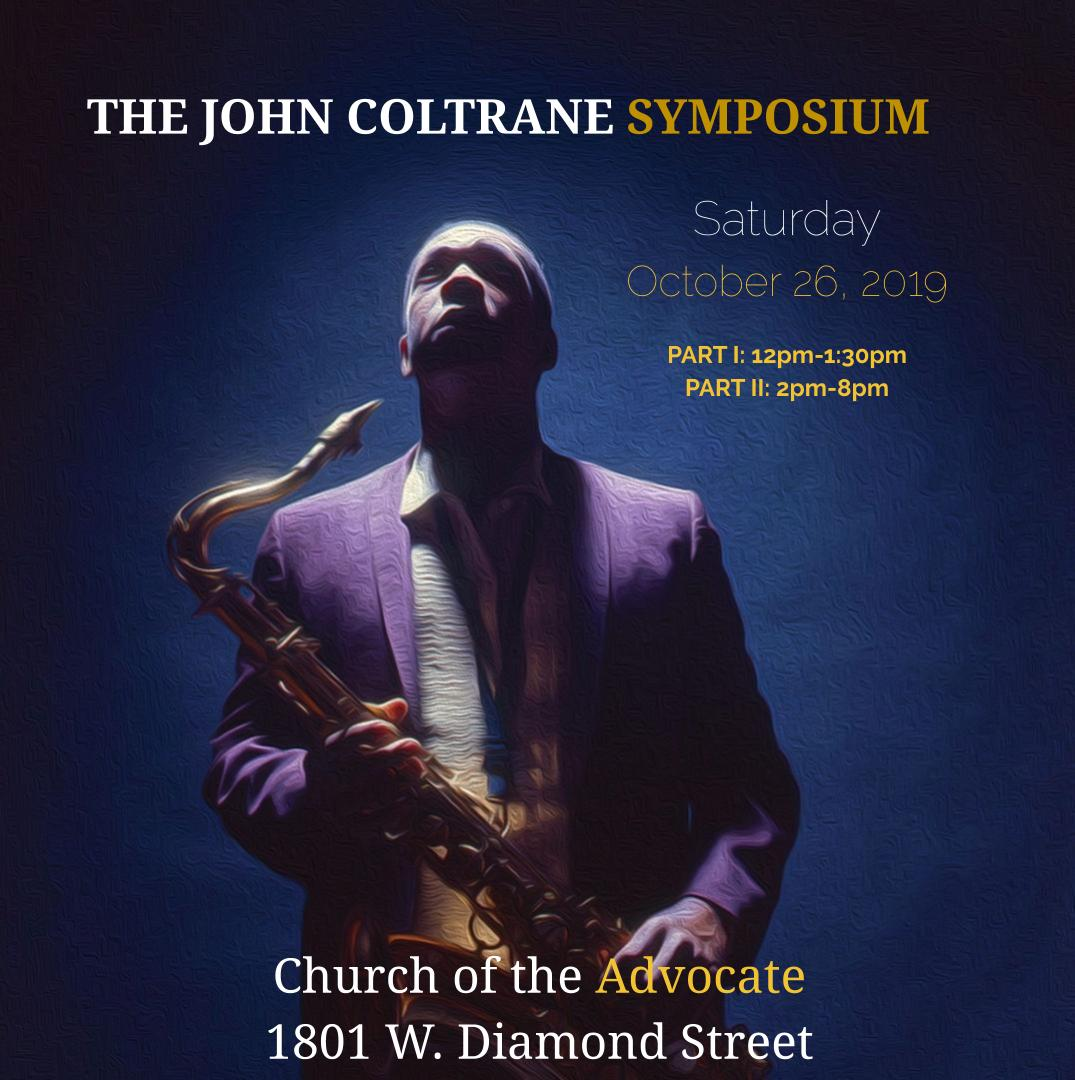 Coltrane Symposium Poster