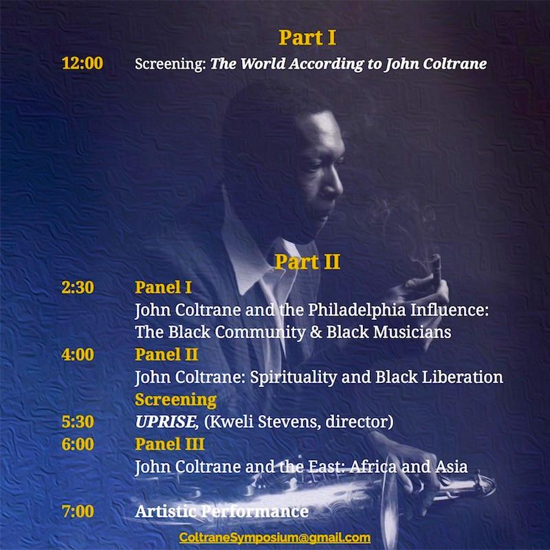 Coltrane Symposium 2019 Back