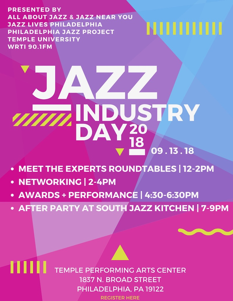 Jazz Industry Day Poster