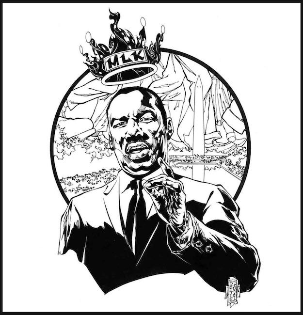 MLK King In Square