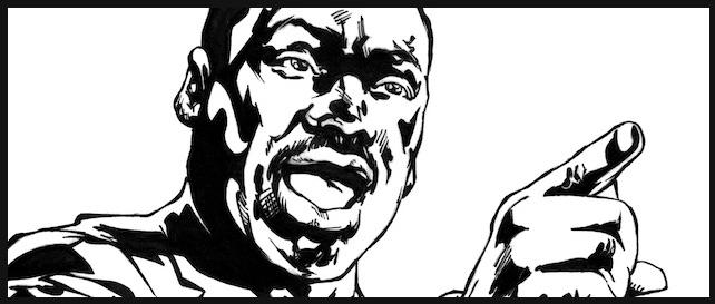 MLK King In Rectangle