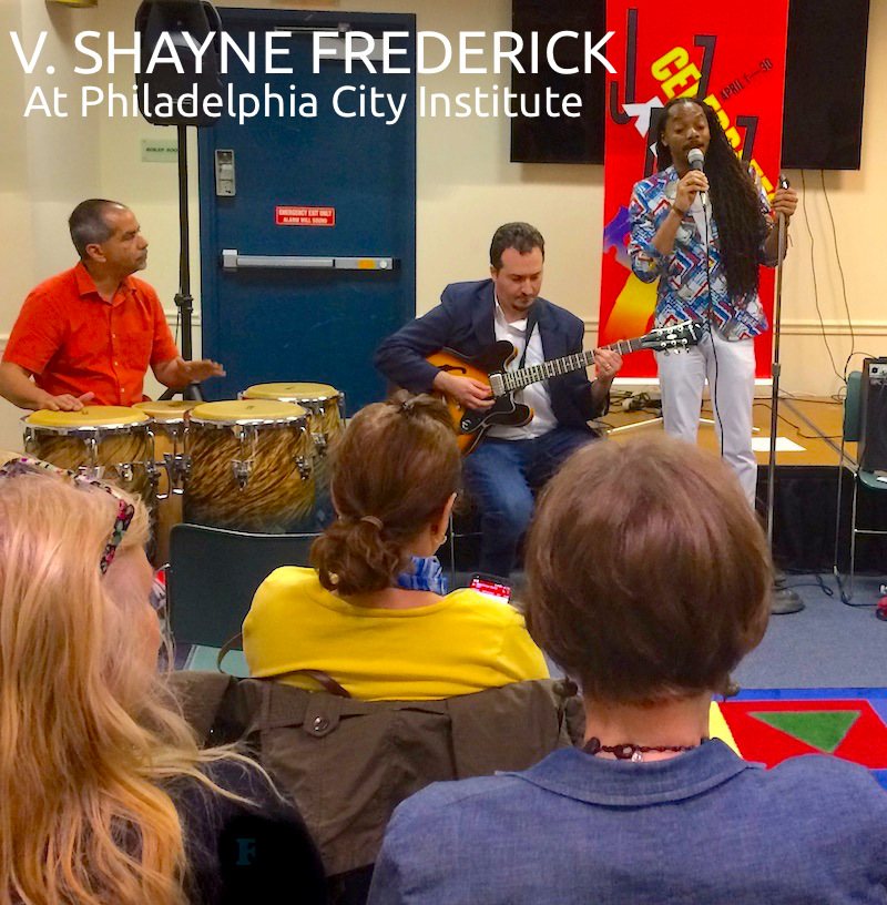 V. Shayne Frederick At Phila City Institute CD Cover