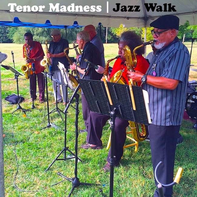 Tenor Madness Jazz Walk Cover