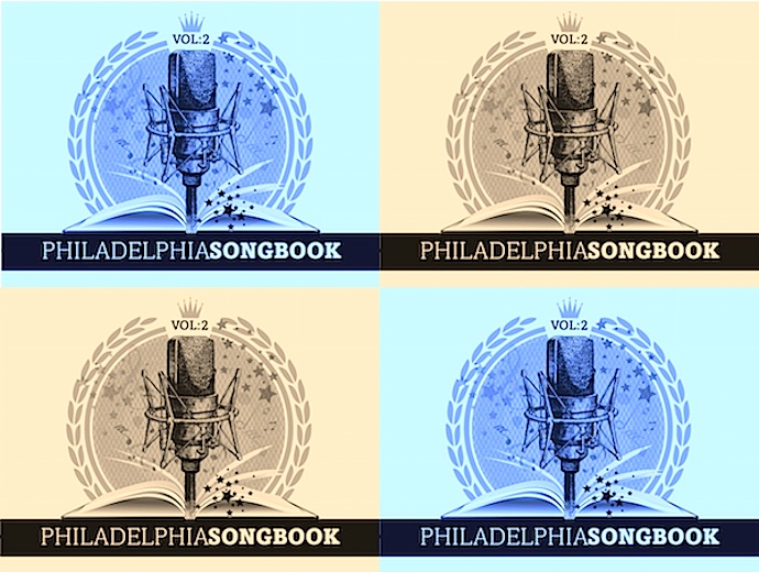 Songbook collage