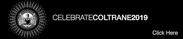 Celebrate Coltrane 2019 wide banner
